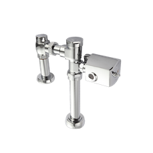 Flushometer Flush Valve with Side Mount Sensor